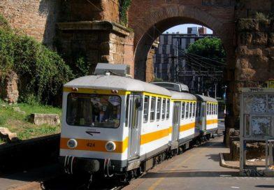 """Il """"Tranvetto"""" della via Casilina a Roma"""