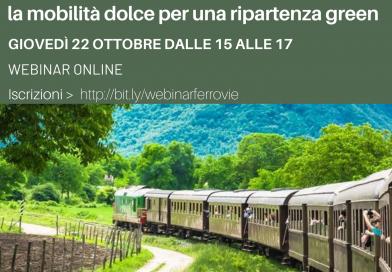 Treni turistici e ferrovie locali: la mobilità dolce per una ripartenza green